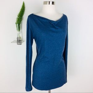 GAP Comfy Cowl Neck Long Sleeve Top Size (M)